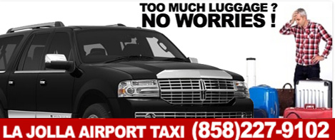 SUV Airport Transportation from La Jolla to San Diego Airport